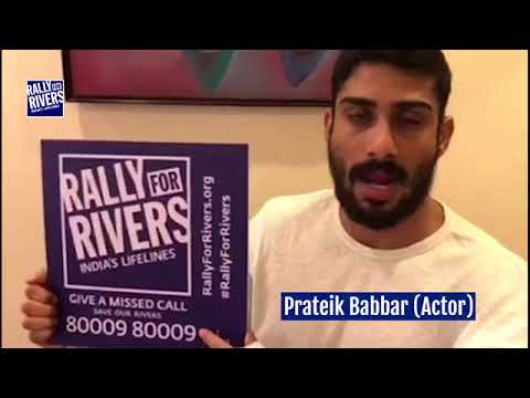 Prateek Babbar for Rally for Rivers