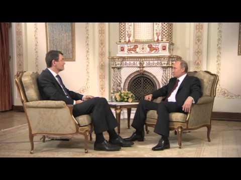 Интервью Владимира Путина немецкой телерадиокомпании ARD