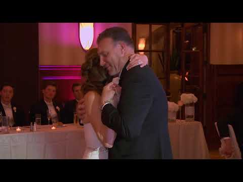 Wedding dance-surprise with father