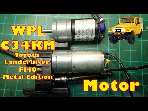 WPL C34KM - Faster Motor