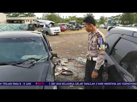 2 Mobil Terlibat Kecelakaan di Jalur Mudik Tasikmalaya - NET24