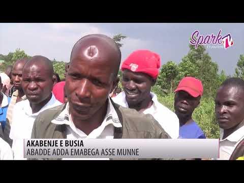 Dereeva atomedde abadde amulagirira nga bakola oluguudo lwa Musita