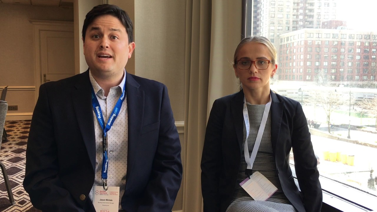 Interview: Jason McHale and Veronica Rechul, Booking.com