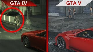 THE BIG GTA COMPARISON 2 | GTA IV vs. GTA V | PC | ULTRA