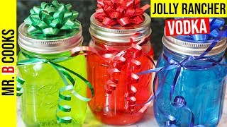 Jolly Rancher Vodka | Mason Jar Alcoholic Drinks | Mixed Drinks (EASY!)