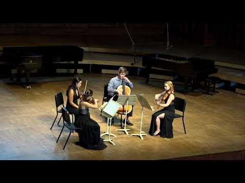 Brahms Quartet in A Minor at Tanglewood