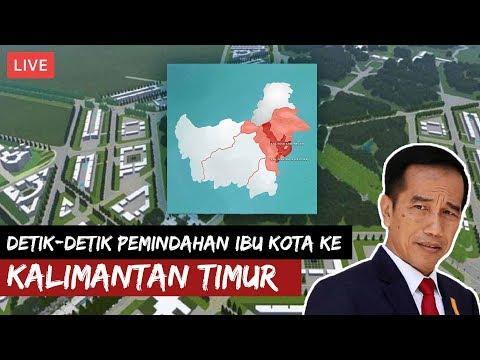 LIVE | Presiden Jokowi Mengumumkan Ibu Kota Baru