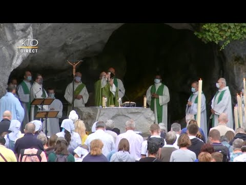 Messe du 28 juillet 2020 à Lourdes