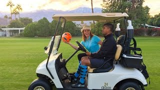 Chill Chaser for Greater Palm Springs tries Footgolf!