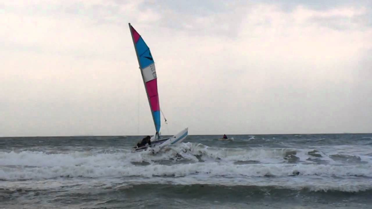Surfing catamarans
