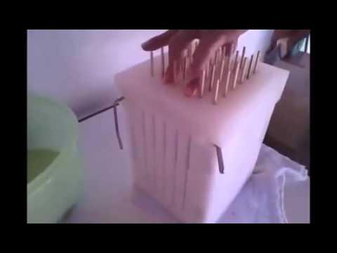 Video Cara Tusuk Daging Sate Dengan Cepat