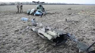 Авіакатастрофа МІ-2 неподалік Краматорська