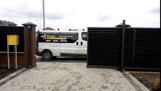 Відкатні ворота від компанії ЗахідВікнаСервіс - відео 1