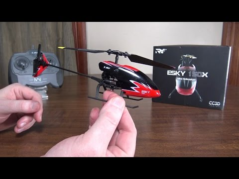 Esky – 150X Mini Helicopter – Review and Flight