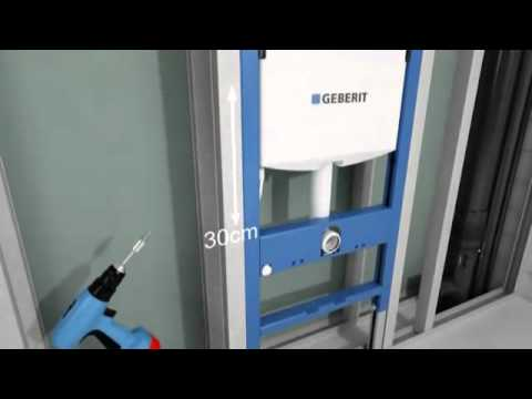 Инсталляция для подвесного унитаза Geberit Duofix UP320 (111.300.00.5) 10