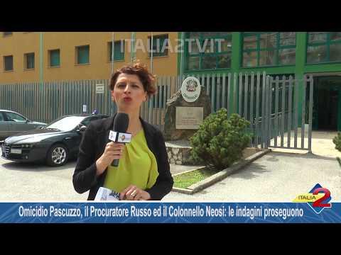 Omicidio Pascuzzo a Buonabitacolo, il Procuratore Russo ed il Colonnello Neosi: le indagini proseguono
