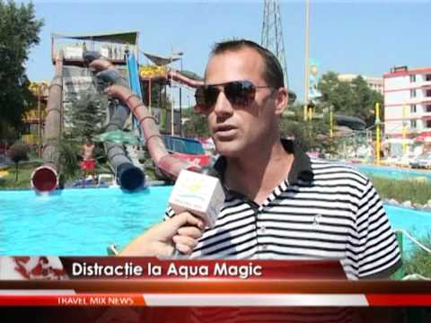 Distracţie la Aqua Magic – VIDEO