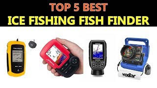 Ice fishing fish finders portable