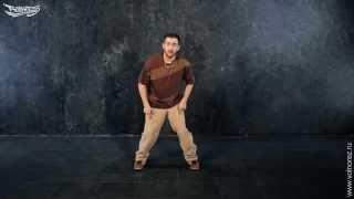 Смотреть онлайн Урок танца брейк-данс дома для начинающих
