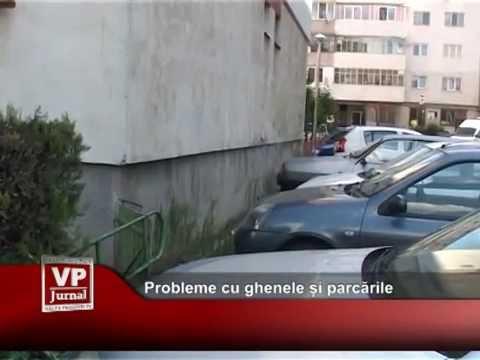 Probleme cu ghenele și parcările de bloc