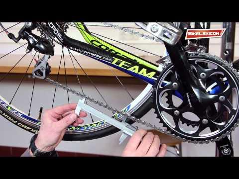Kettenverschleiß einer Fahrradkette messen und prüfen mit 3 Methoden