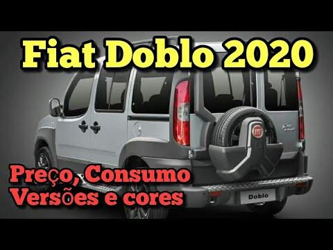 Nova Fiat Doblo 2020: Preço, Consumo, Versões e cores! Vejam todos os Detalhes