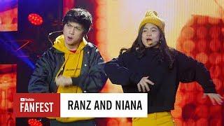 Ranz Kyle & Niana Guerrero @ YouTube FanFest Indonesia 2017