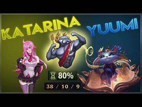 URF KATARINA + YUUMI IS OP | Dagger Stuck - League of Legends 👍 #1