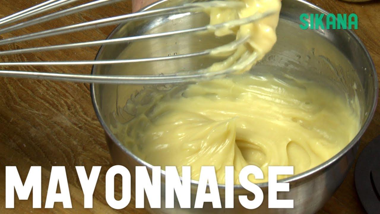 Mayonnaise recette facile apprendre cuisiner sikana - Recette facile a cuisiner ...