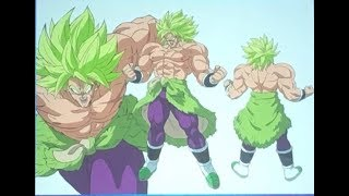 Dragon Ball Super Movie Broly Transformation Revealed