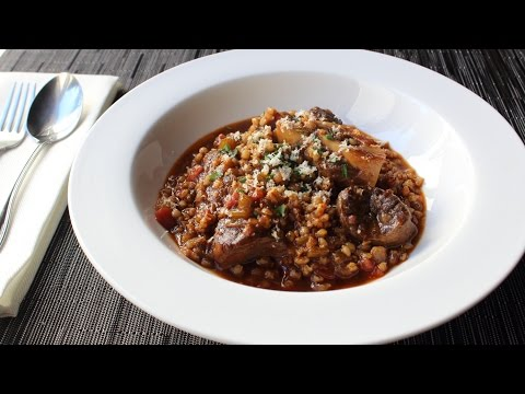 Beef and Barley Stew Recipe – How to Make Stewed Beef Shank with Barley