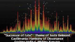 Successor of Fate - Theme of Juste Belmont - Entrance - Castlevania: Harmony of Dissonance