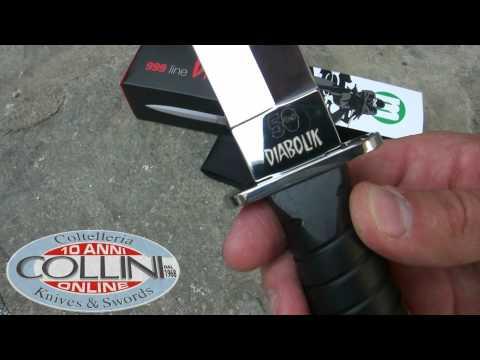 Diabolik coltello ufficiale, Maserin, coltelli, knives, coltelleria collini