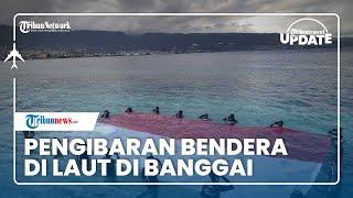 TRIBUN TRAVEL UPDATE: Pengibaran Bendera di Bawah Laut Dan Atraksi Jetsky di Kabupaten Banggai