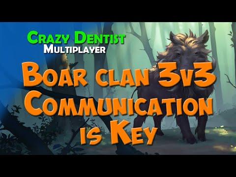 Northgard Boar clan in 3v3 | Communication is Key