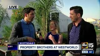 Property Brothers at Home and Garden Show this weekend