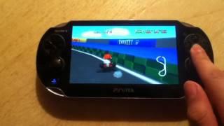 Mario Kart 64 On Ps Vita (N64 Daedalus Emulator)