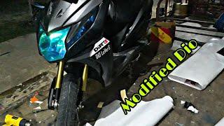 Honda Dio Modified 🔥🔥🔥| Modification Gallery