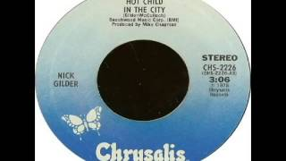 Nick Gilder - Hot Child In The City (1978)