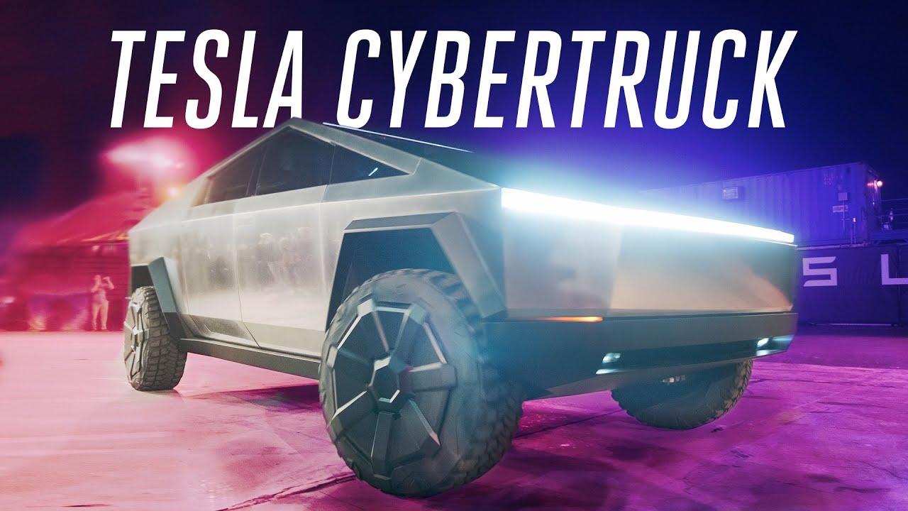 Tesla Cybertruck first ride: inside the electric pickup thumbnail