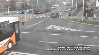 Man hit by bus in Poland