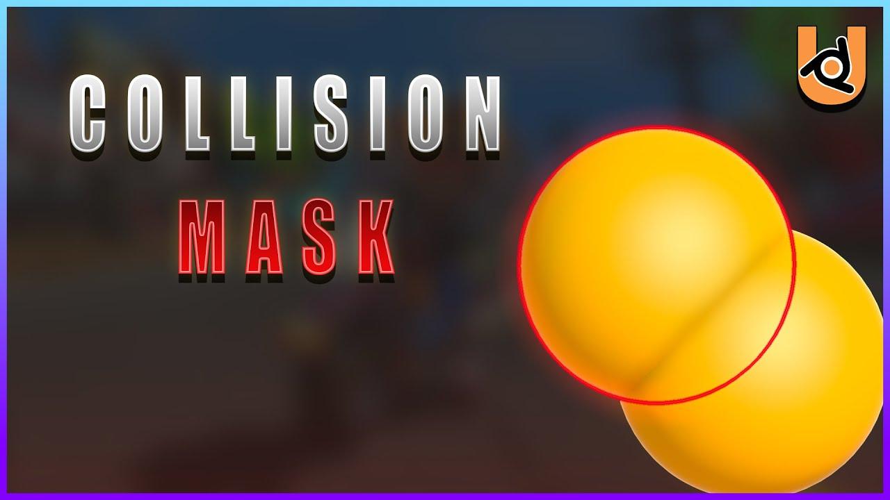 COLLISION MASK | UPBGE (Tutorial)