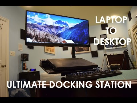 My Ultimate Laptop Docking Station Build With LG Ultra-wide Monitor