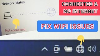 How to fix wifi not connecting on computer / No internet on laptop / No network on computer /