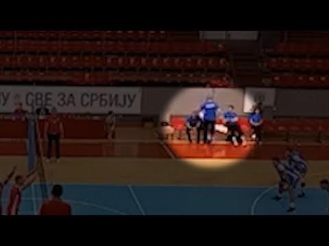 Incident između trenera i odbojkaša Niša: Snimak nejasan, komentari da je igrač povređen, čelnici ćute