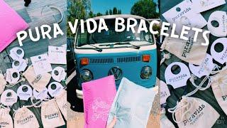 Pura Vida Bracelets Haul 🌺    Unboxing & Review! + Giveaway