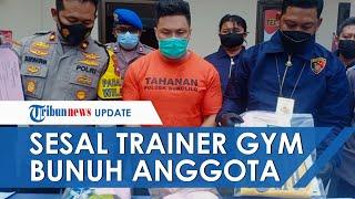 Pengakuan Trainer Gym yang Tusuk Anggotanya, Minta Maaf hingga Dendam karena Sering Dibully