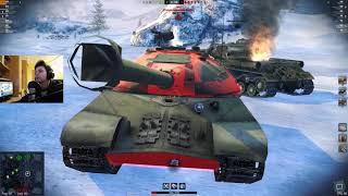 WoT Blitz - Три боя на Ferdinand. Никаких кустов не будет- World of Tanks Blitz (WoTB)