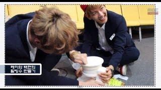 신동의 심심타파 - EXO Lay & Baekhyun Penalty Red-bean sherbet, 엑소 레이 & 백현 벌칙 팥빙수