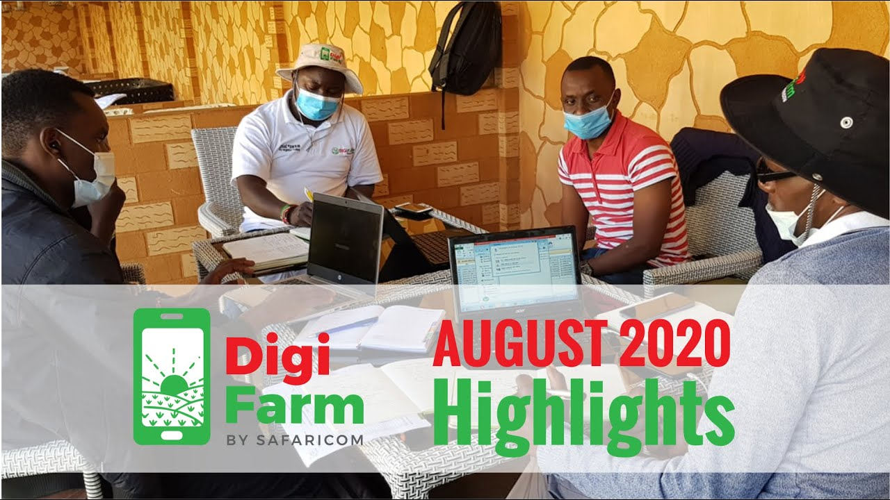 DigiFarm – August 2020 Highlights